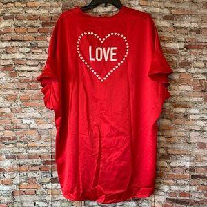 Victoria's Secret Love Robe 100% Polyester NWT